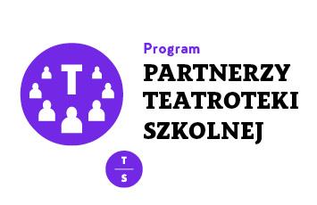 Logo: Partnerzy Teatroteki Szkolnej