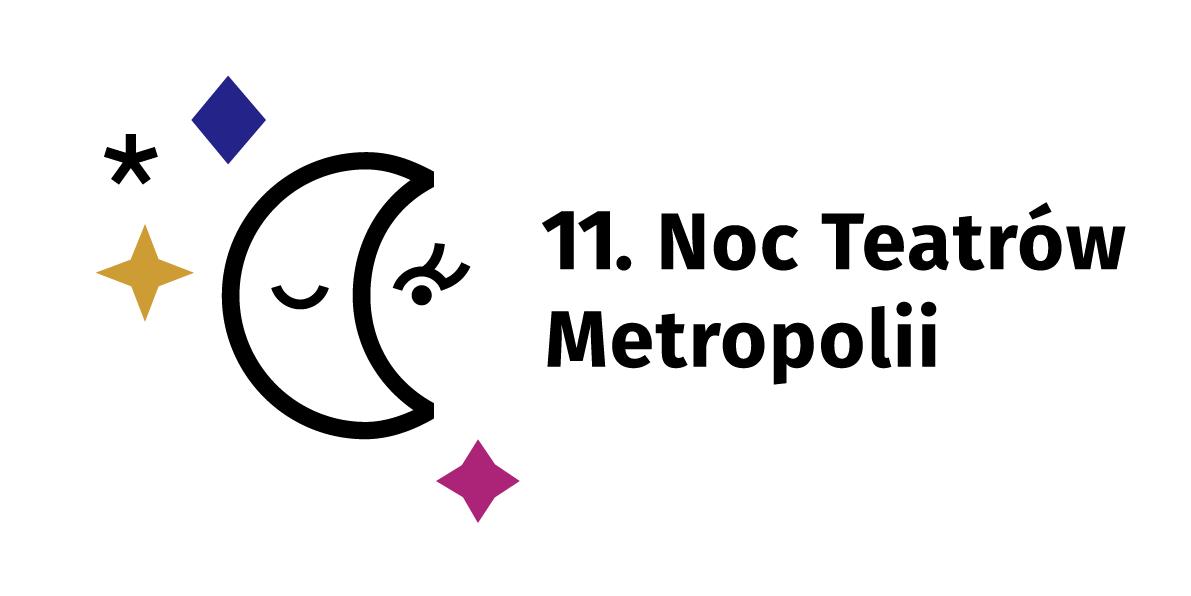 Logo: 11 Noc Teatrów Metropolii